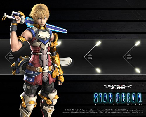tri-Ace, Star Ocean The Last Hope, Edge Maverick, Official Wallpaper