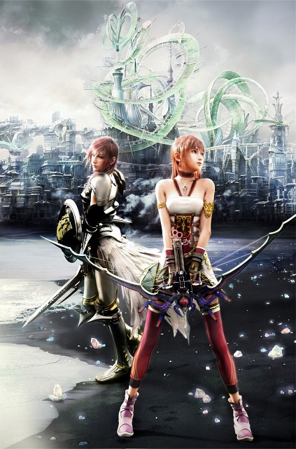 Square Enix, Final Fantasy XIII, Serah Farron, Lightning (FF XIII), Occupations