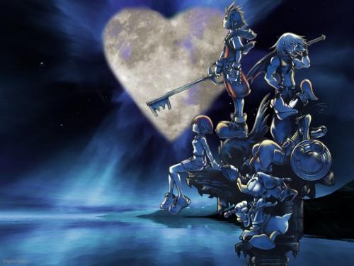 Square Enix, Kingdom Hearts, Goofy, Kairi, Riku Wallpaper