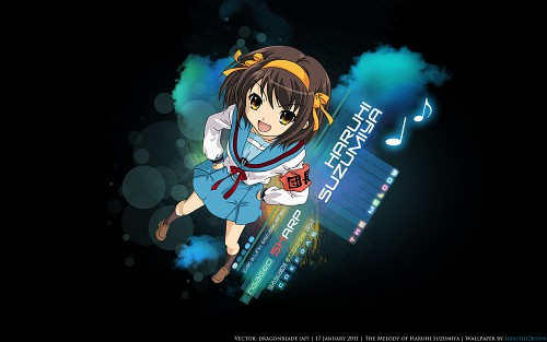 Noizi Ito, The Melancholy of Suzumiya Haruhi, Haruhi Suzumiya Wallpaper