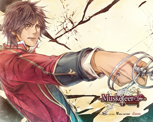 Takashi Kiriya, Idea Factory, Musketeer: Le Sang Des Chevaliers, Porthos, Official Wallpaper