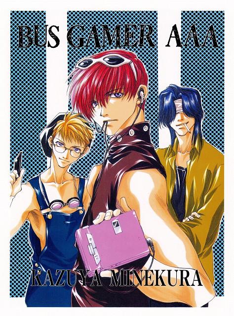 Kazuya Minekura, Bus Gamer, Backgammon 1, Nobuto Nakajou, Toki Mishiba