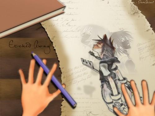 Shiro Amano, Square Enix, Kingdom Hearts, Riku, Kairi Wallpaper