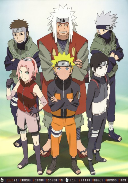 Studio Pierrot, Naruto, Sakura Haruno, Yamato , Sai