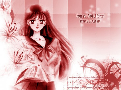 Naoko Takeuchi, Bishoujo Senshi Sailor Moon, BSSM Original Picture Collection Vol. II, Rei Hino Wallpaper