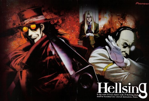 Kouta Hirano, Geneon/Pioneer, Hellsing, Integra Fairbrook Wingates Hellsing, Alucard