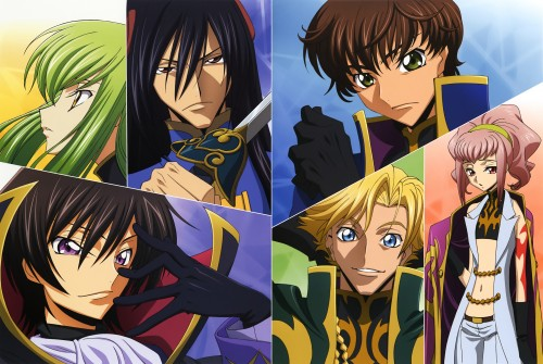Kogure Masahiro, Sunrise (Studio), Lelouch of the Rebellion, Code Geass Illustrations Relation, Suzaku Kururugi
