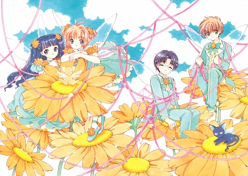 CLAMP, Cardcaptor Sakura, Cardcaptor Sakura Illustrations Collection 2, Sakura Kinomoto, Keroberos
