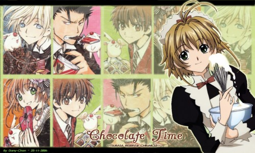 CLAMP, Bee Train, Tsubasa Reservoir Chronicle, Sakura Kinomoto, Fay D. Flourite Wallpaper