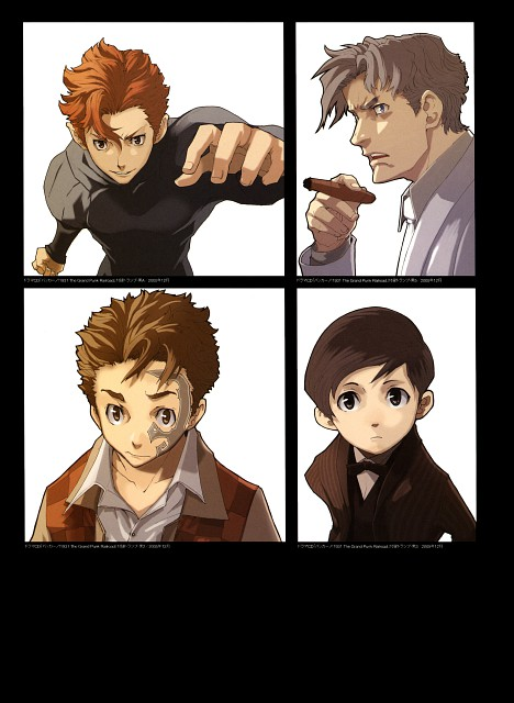 Katsumi Enami, Brains Base, Baccano!, Ladd Russo, Claire Stanfield