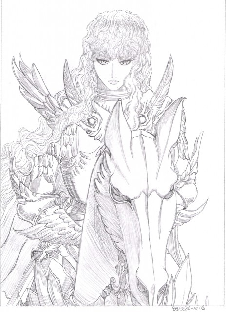Kentaro Miura, OLM Digital Inc, Berserk, Griffith, Member Art