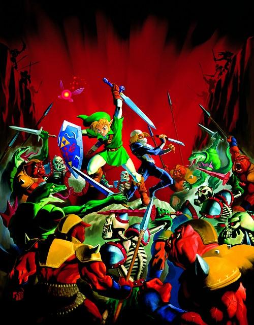 Nintendo, The Legend of Zelda, The Legend of Zelda: Ocarina of Time, Link, Sheik
