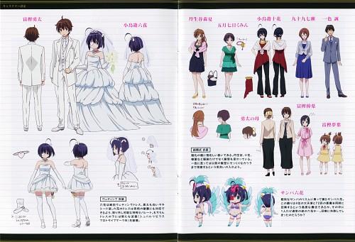 Nozomi Ousaka, Kyoto Animation, Chuunibyou demo Koi ga Shitai!, Yuuta Togashi, Shinka Nibutani