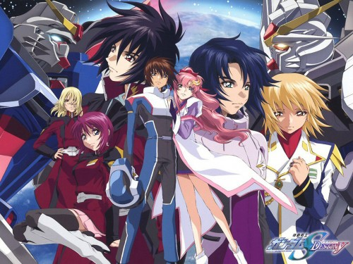 Sunrise (Studio), Mobile Suit Gundam SEED Destiny, Rey Za Burrel, Kira Yamato, Lunamaria Hawke