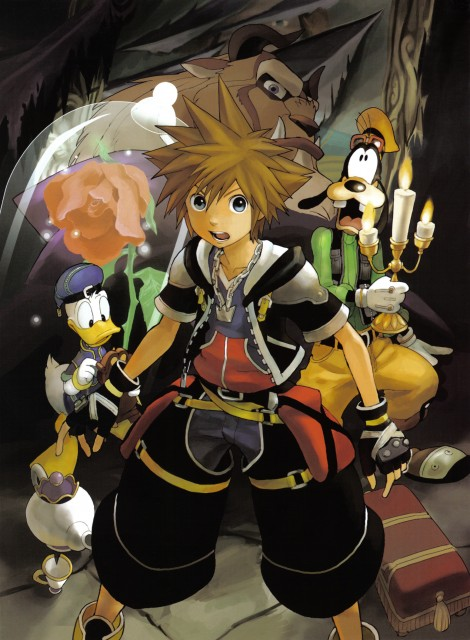 Shiro Amano, Square Enix, Art Works Kingdom Hearts, Kingdom Hearts, Goofy