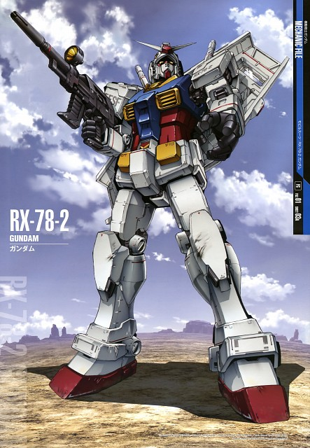 Sunrise (Studio), Mobile Suit Gundam - Universal Century, Gundam Perfect Files
