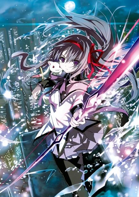 Shino (茨乃), Puella Magi Madoka Magica, Puella Magi Madoka Magica The Illustrated Book, Homura Akemi