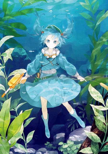 Shihou (Mangaka), Touhou Yuu Gajou San, Touhou, Nitori Kawashiro, Comic Market 82
