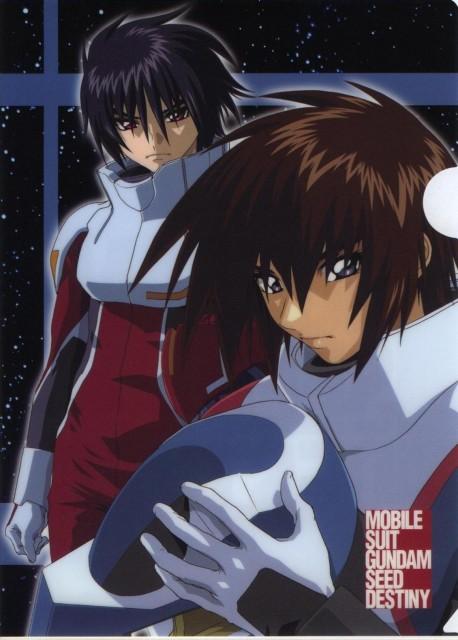 Sunrise (Studio), Mobile Suit Gundam SEED Destiny, Kira Yamato, Shinn Asuka, Pencil Board