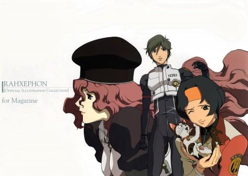 BONES, RahXephon, RahXephon Illustrations Collection, Ayato Kamina, Haruka Shitow