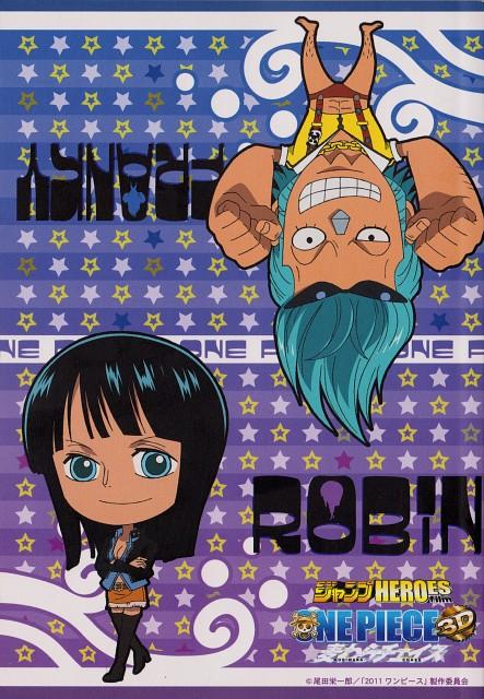 Eiichiro Oda, Toei Animation, One Piece, Franky, Nico Robin