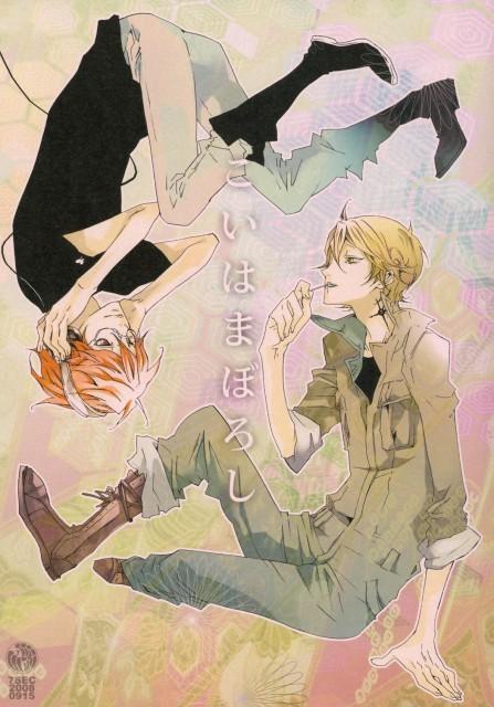 Katekyo Hitman Reborn!, Irie Shoichi, Spanner, Doujinshi