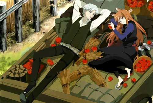 Sadakata Kikuko, Spice and Wolf, Kraft Lawrence, Horo