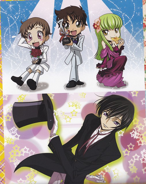 As' Maria, Takahiro Kimura, Sunrise (Studio), Lelouch of the Rebellion, Rolo Lamperouge