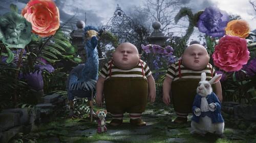 Disney, Alice In Wonderland (2010 Film), Tweedles, White Rabbit, Dormouse