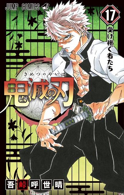 Koyoharu Gotouge, Ufotable, Kimetsu no Yaiba, Sanemi Shinazugawa, Manga Cover