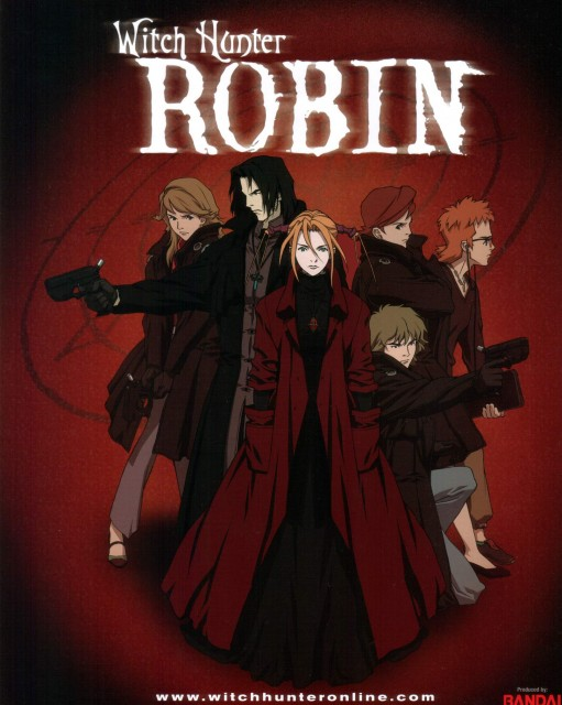 Sunrise (Studio), Witch Hunter Robin, Michael Lee, Amon (Witch Hunter Robin), Robin Sena