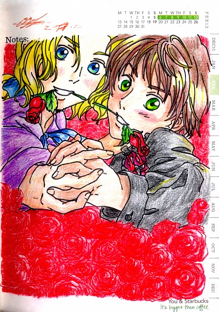 Hetalia: Axis Powers, France, Spain, Member Art