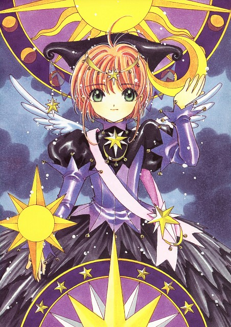 CLAMP, Madhouse, Cardcaptor Sakura, Cardcaptor Sakura Illustrations Collection 3, Sakura Kinomoto