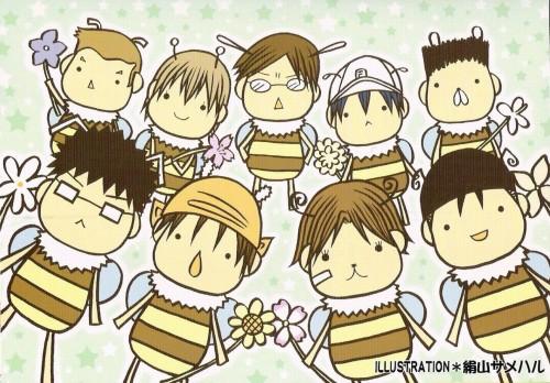 Prince of Tennis, Kunimitsu Tezuka, Kaoru Kaidoh, Ryoma Echizen, Eiji Kikumaru