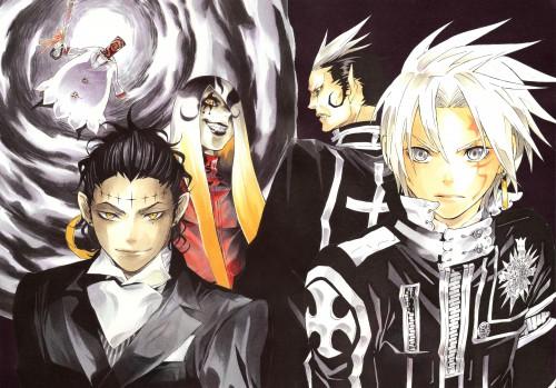 Katsura Hoshino, D Gray-Man, Noche - D.Gray-man Illustrations, Millenium Earl, Tyki Mikk
