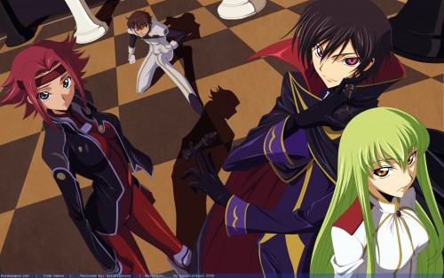 Takahiro Kimura, Sunrise (Studio), Lelouch of the Rebellion, C.C., Kallen Stadtfeld Wallpaper