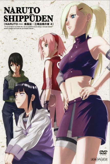 Studio Pierrot, Naruto, Hinata Hyuuga, Sakura Haruno, Shizune