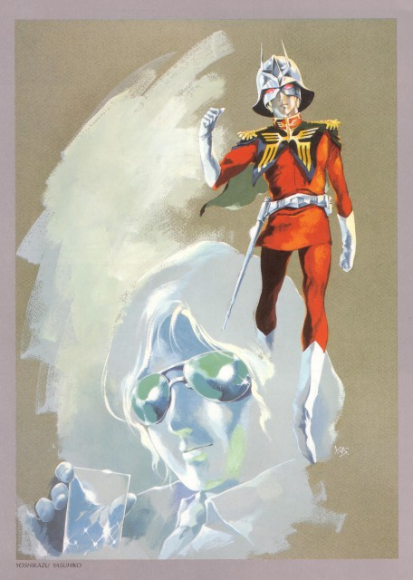 Yoshikazu Yasuhiko, Sunrise (Studio), Mobile Suit Gundam - Universal Century, Char Aznable