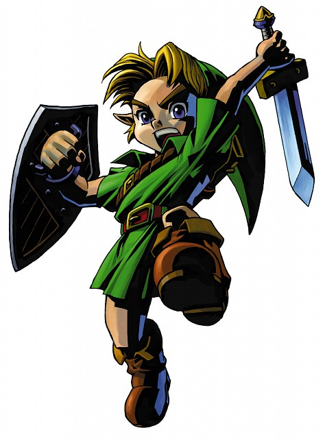 Nintendo, The Legend of Zelda, The Legend of Zelda: Majora's Mask, Young Link, Link
