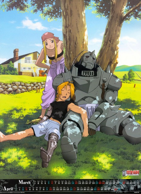BONES, Fullmetal Alchemist, Edward Elric, Winry Rockbell, Alphonse Elric
