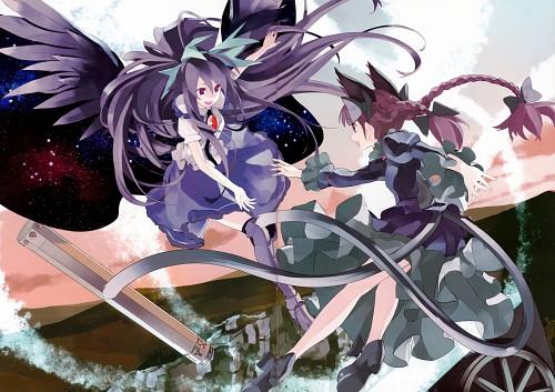 Shihou (Mangaka), Touhou Yuu Gajou Ni, Touhou, Rin Kaenbyou, Utsuho Reiuji