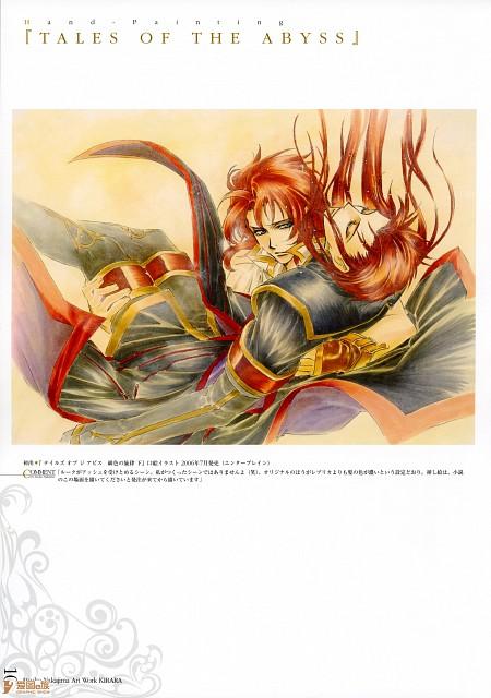 Atsuko Nakajima, Kirara - Atsuko Nakajima Art Work, Tales of the Abyss, Luke Fon Fabre, Asch