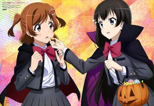 Kinema Citrus, Shoujo Kageki Revue Starlight, Karen Aijou, Hikari Kagura, Animedia