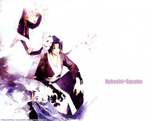 Shel, Masashi Kishimoto, Studio Pierrot, Naruto, Sasuke Uchiha Wallpaper