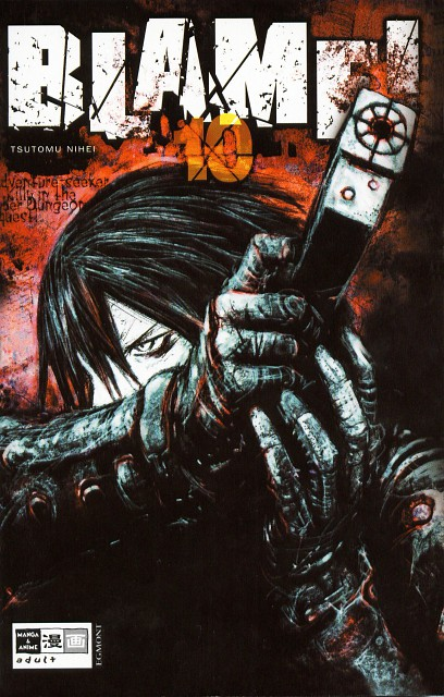 Tsutomu Nihei, Blame!, Killy, Manga Cover