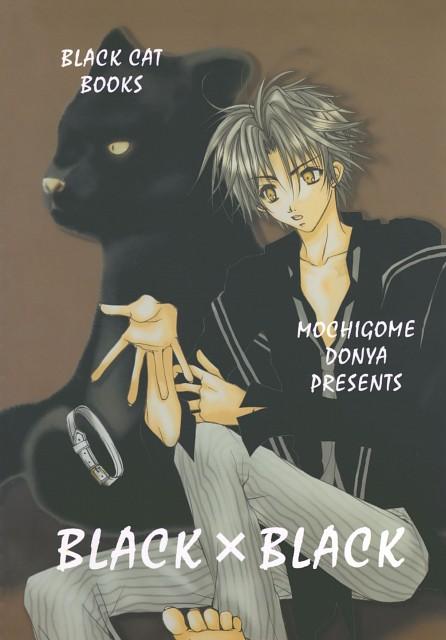 Kotsubu Mochigome, Black Cat, Train Heartnet, Doujinshi Cover, Doujinshi