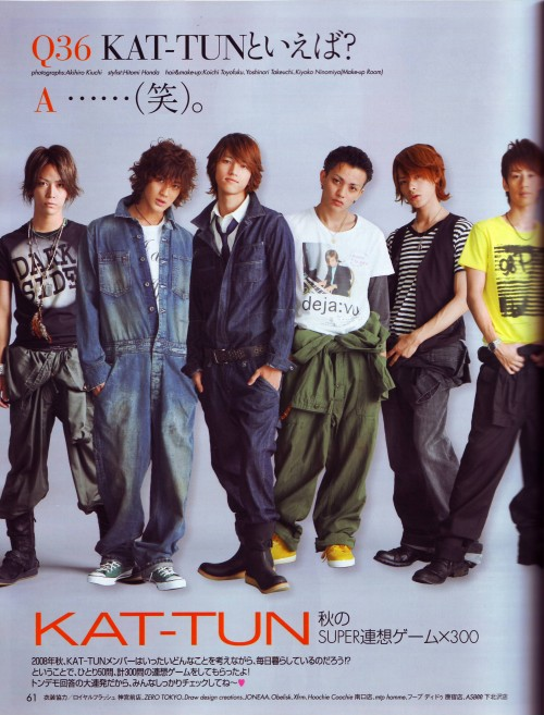 Yuichi Nakamaru, Jin Akanishi, Tatsuya Ueda, KAT-TUN, Koki Tanaka