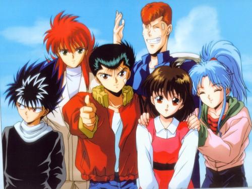 Studio Pierrot, Yuu Yuu Hakusho, Kazuma Kuwabara, Yusuke Urameshi, Hiei