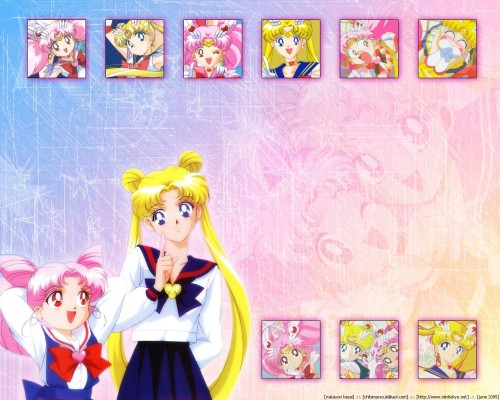 Toei Animation, Bishoujo Senshi Sailor Moon, Super Sailor Moon, Super Sailor Chibi Moon, Chibi Usa Wallpaper