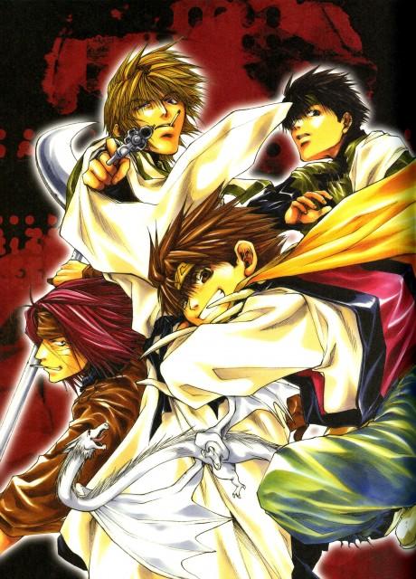 Kazuya Minekura, Studio Pierrot, Saiyuki, Salty Dog III, Sha Gojyo